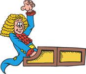 Harpsichord clipart.