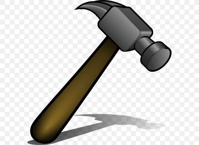 Claw Hammer Nail Clip Art, PNG, 594x596px, Hammer, Carpenter.
