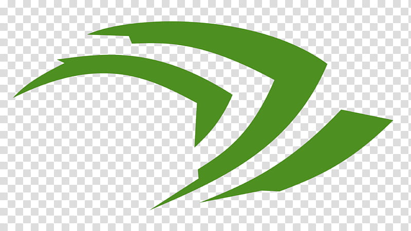 Nvidia Claw Logo HD, oval green logo transparent background.