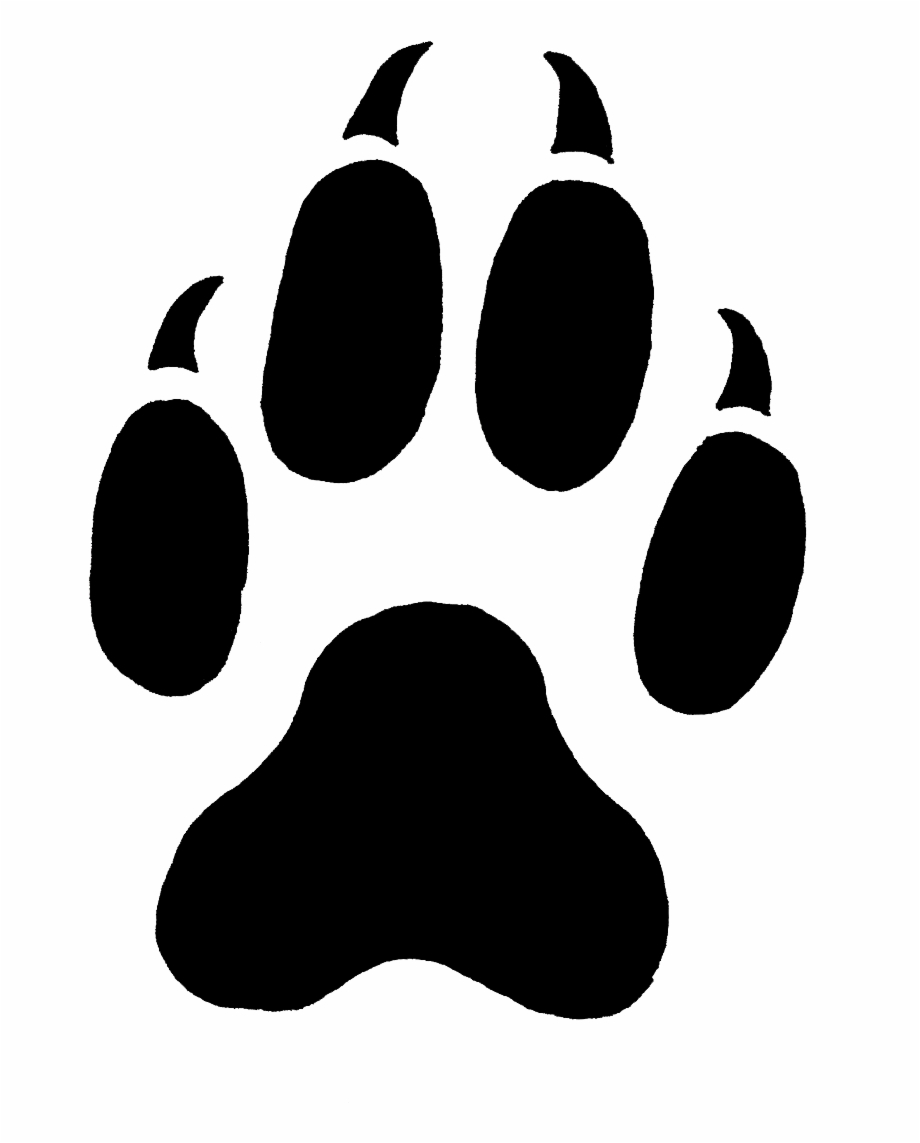 Wolf Print Png.