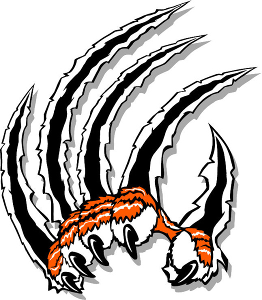 Tiger Claw Clipart.
