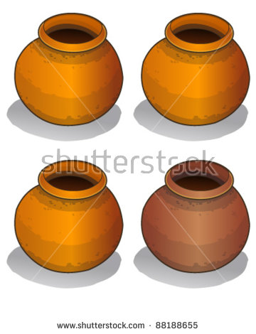 Clay Pot Stock Photos, Royalty.