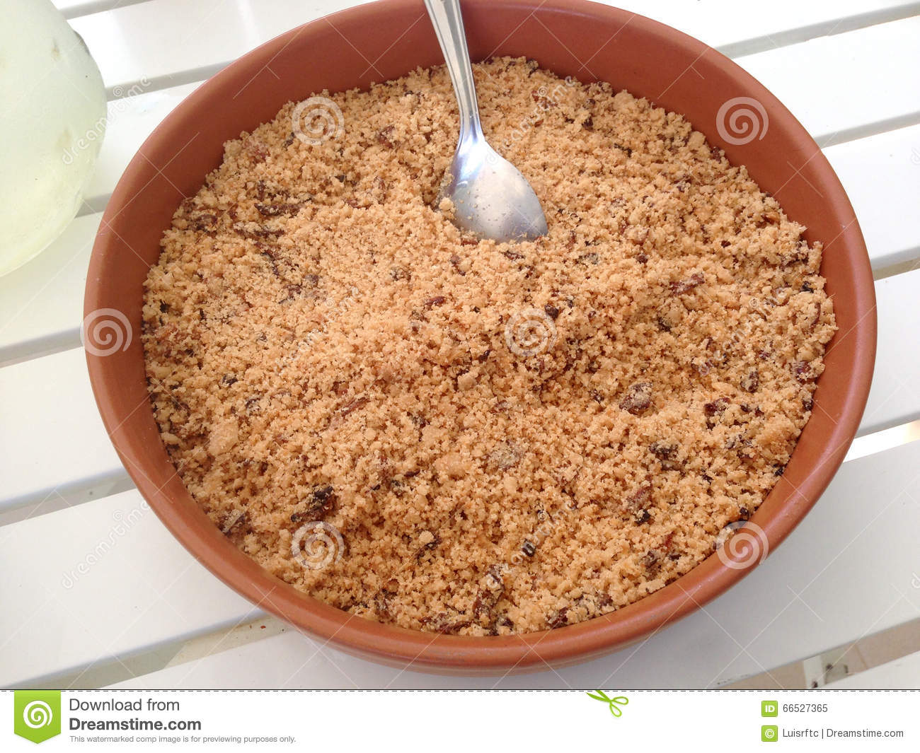 Brazilian Seasoned Flour Stock Photo.