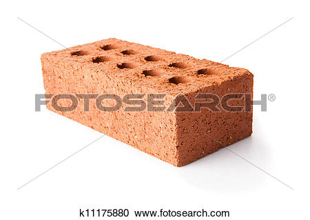 Stock Photography of Red clay brick k11175880.