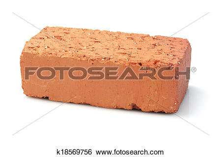 Stock Images of Red Clay Brick k18569756.