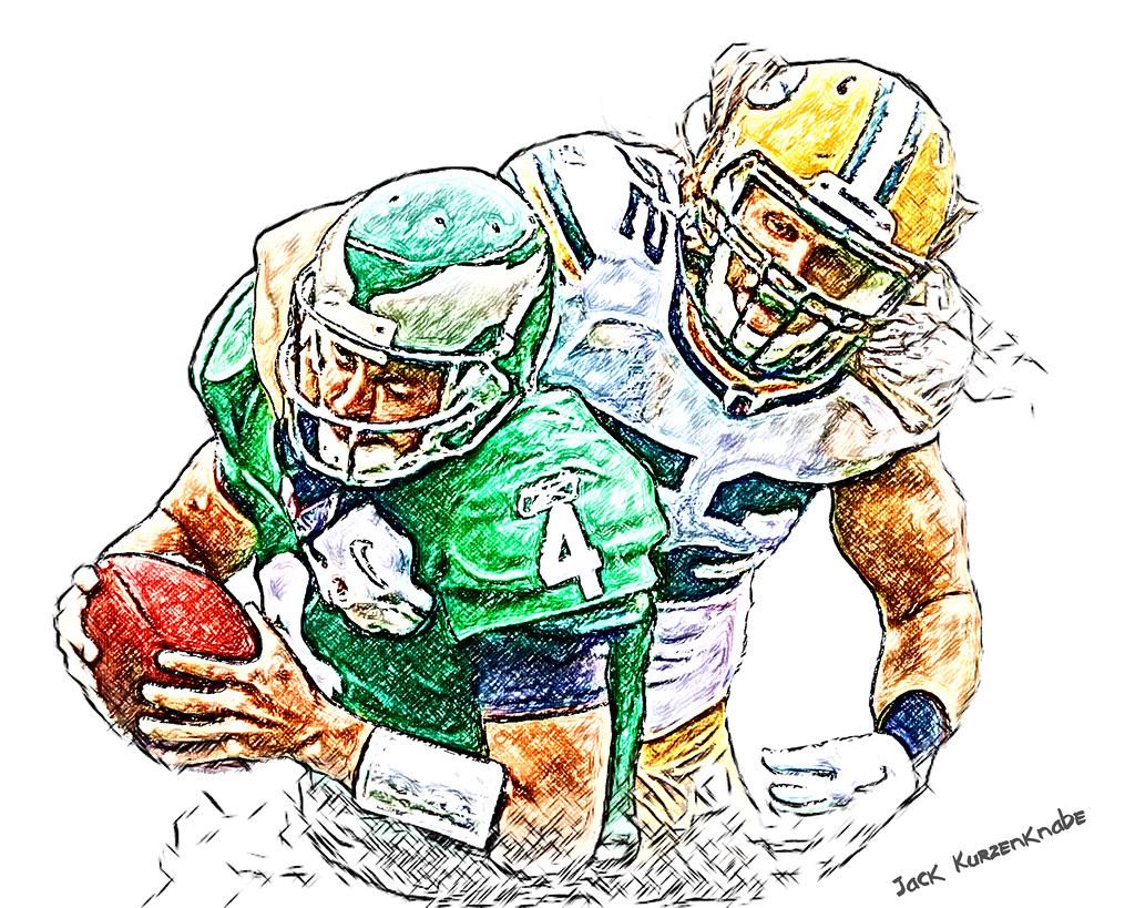 0 Green Bay Packers Clay Matthews.