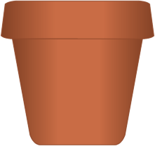 Clipart images of pot.