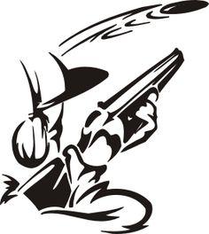 CLAY PIGEON SHOOTING skeet trap shooting.