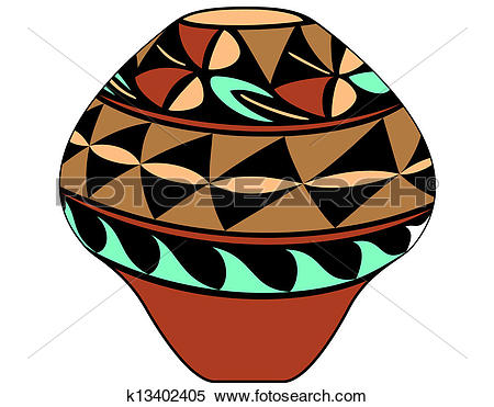 Clay pot Clip Art and Illustration. 1,198 clay pot clipart vector.