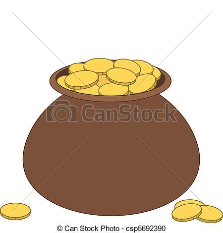 Clay pots clipart #17