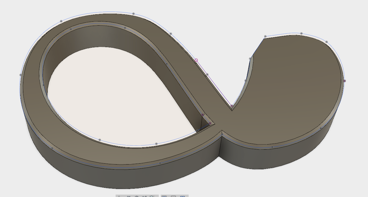 Solved: unable to chamfer a created part from a dxf.