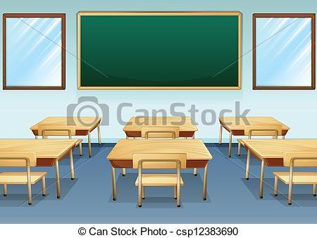 Clean Classroom Clipart.