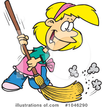 Keep your classroom clean clipart.
