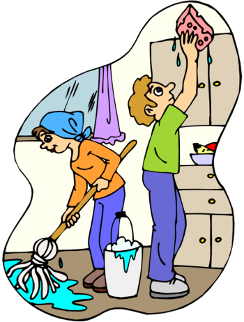 clipart of cleaning #5