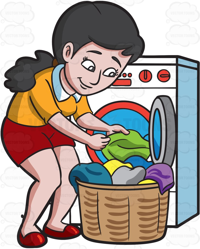 Cleaning clipart clean clothes, Cleaning clean clothes.