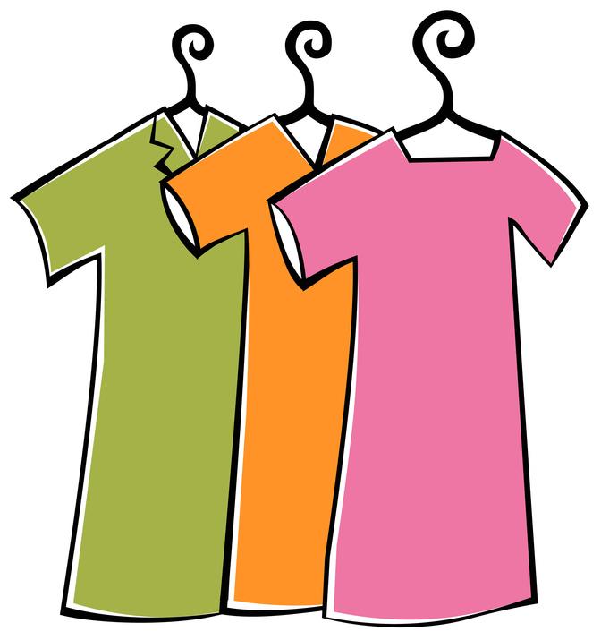 Clip Art Clean Clothes Clipart.
