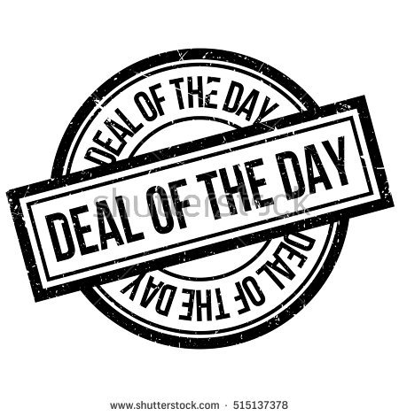 Deal Of The Day Stock Photos, Royalty.