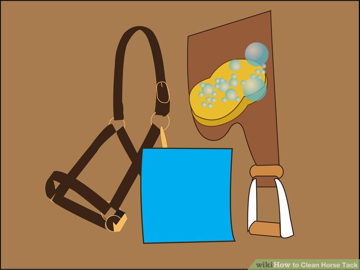 3 Ways to Clean Horse Tack.