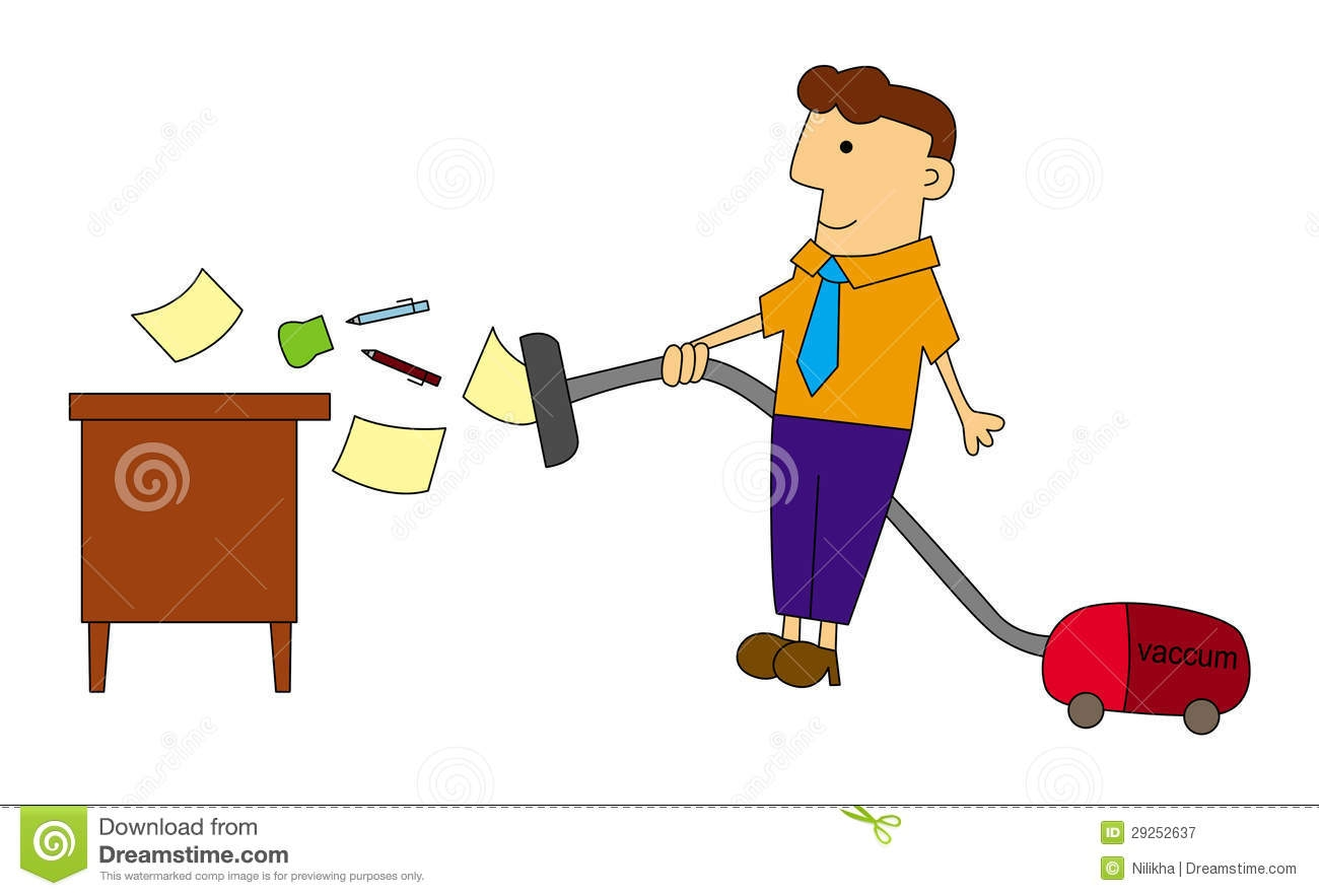 Clean Office Clipart.