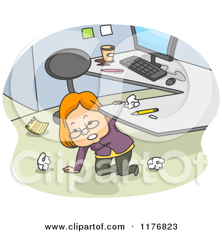 Office Clean Up Clipart.