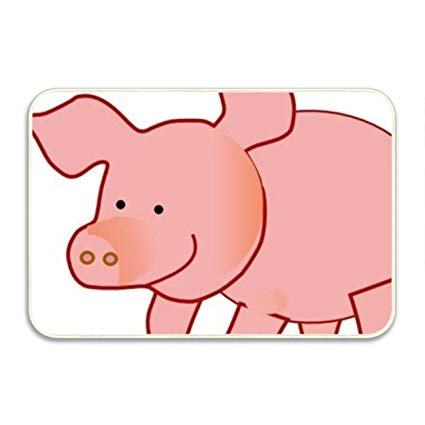 Amazon.com : Ranhkdn Pig Clipart Cute Indoor/Outdoor Easy.