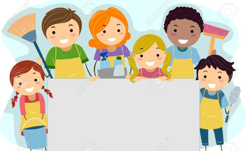 clean school environment clipart