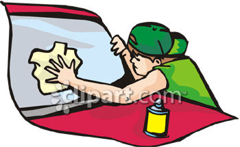 Showing post & media for Cartoon guy cleaning car.