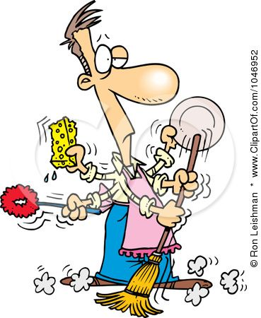Spring Cleaning Clip Art.