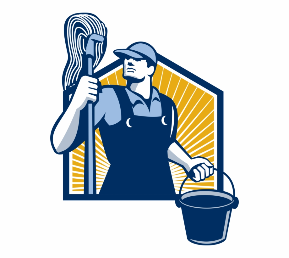 Janitor Clipart Clean Up Crew.
