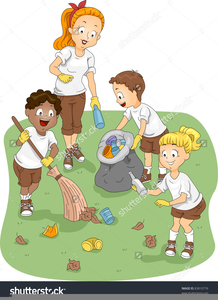 Park Clean Up Clipart.
