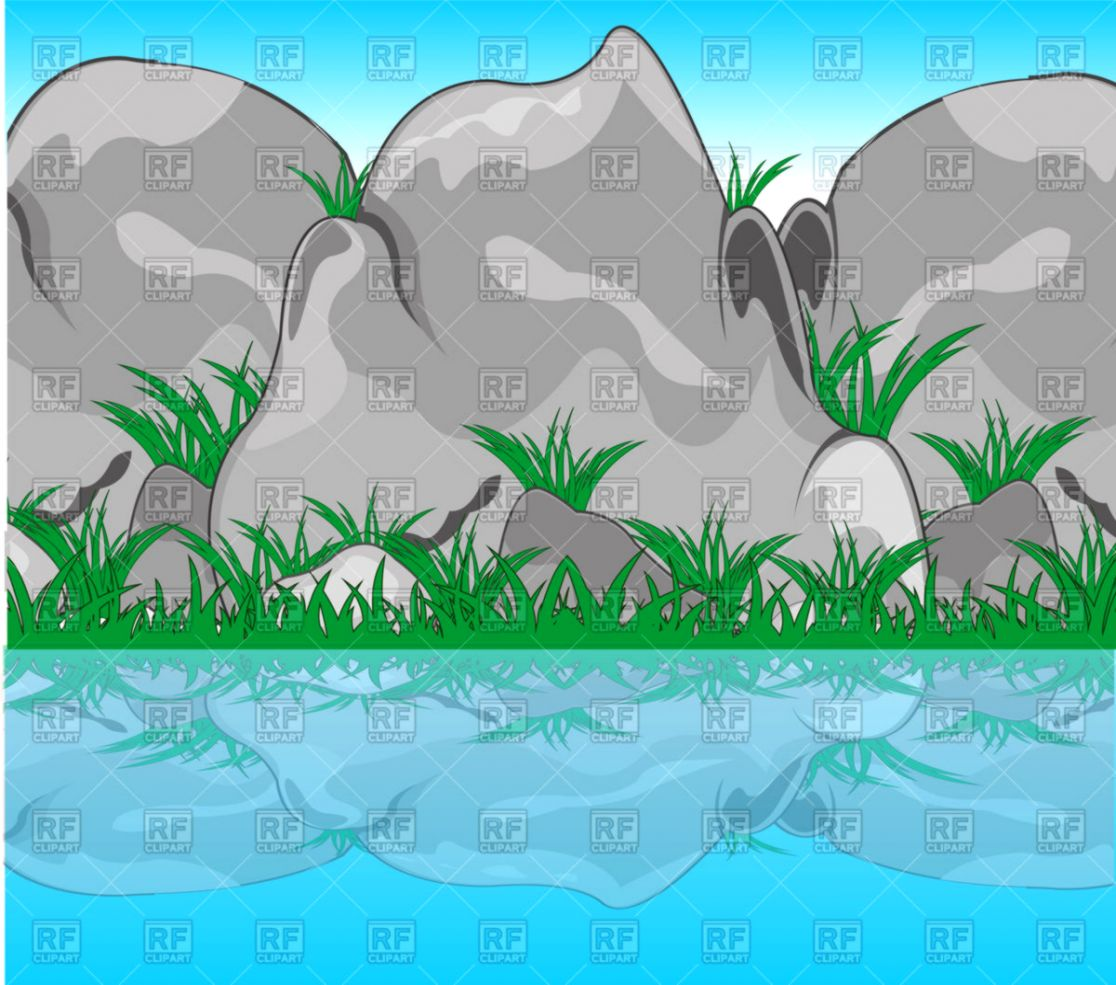 River Water Clipart.