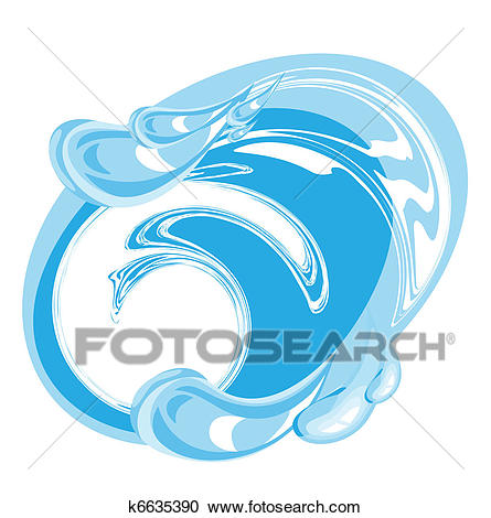 Image of clean water Clipart.
