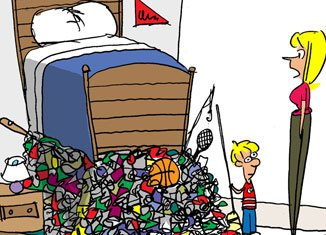 Cleaning your room clipart 1 » Clipart Portal.
