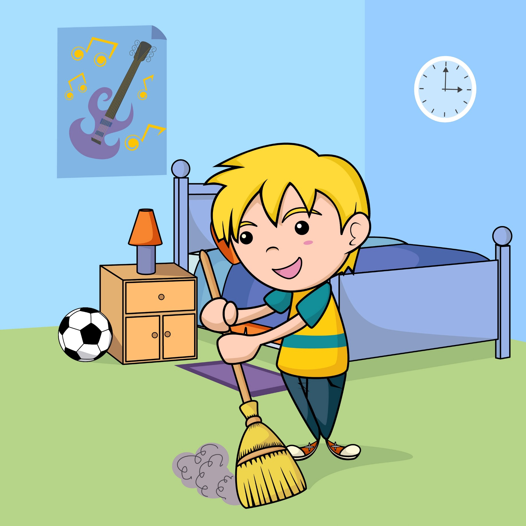 Clean Your Room Clipart.