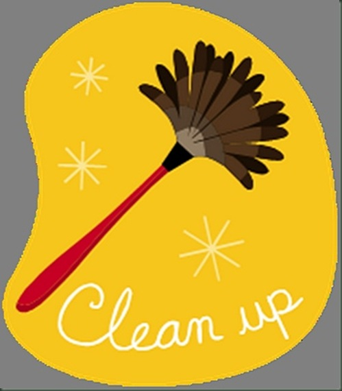 Clean Up Time Clipart.