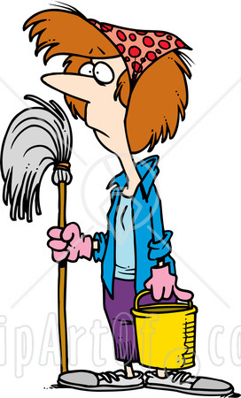 clipart of cleaning #8
