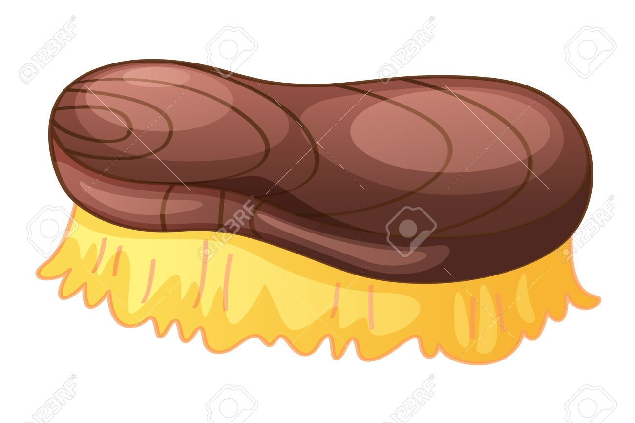 Illustration Of A Scrubbing Brush Royalty Free Cliparts, Vectors.
