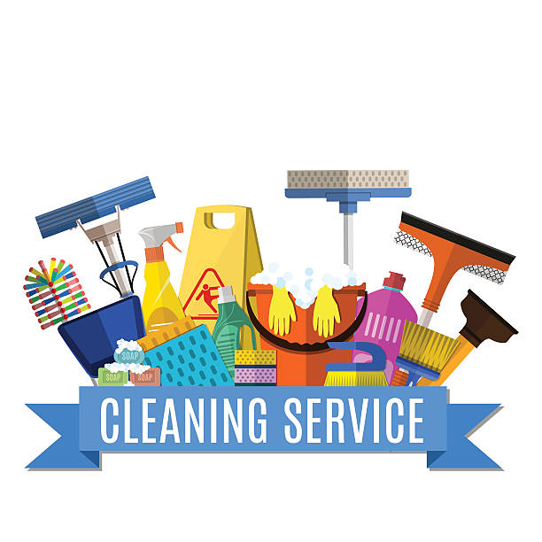 Best Cleaning Service Illustrations, Royalty.