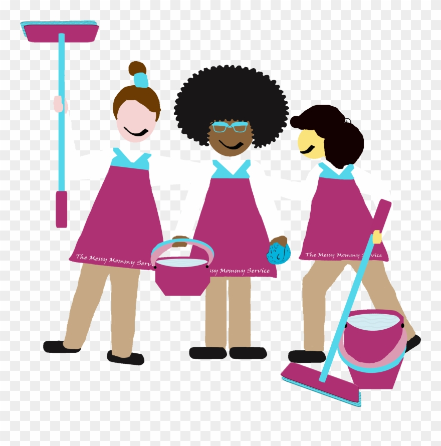 Image Free Download How The Mommy Cleaning Service Clipart (#1940385.