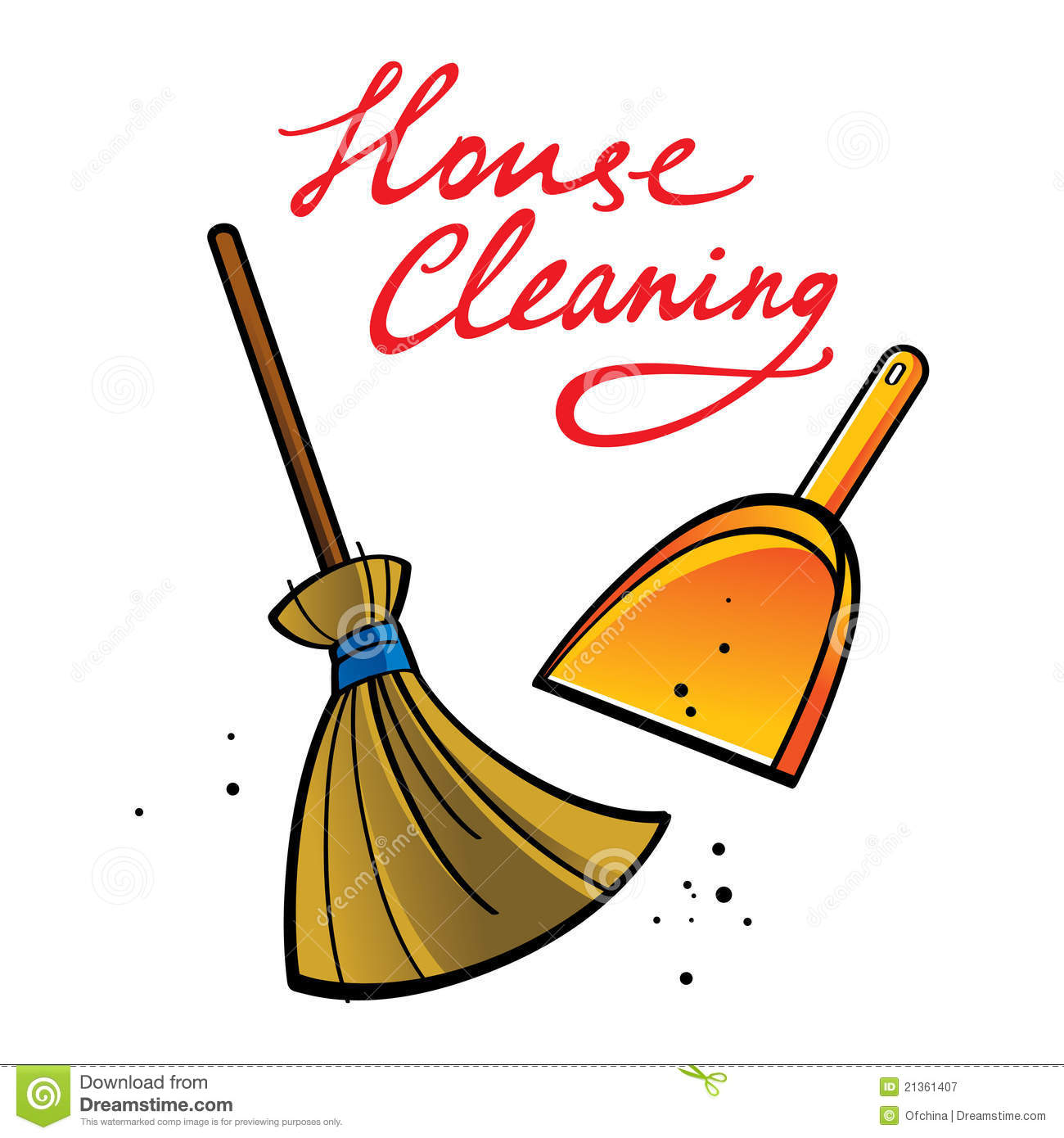 Cleaning Services Clipart.