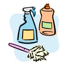 Free clipart cleaning clipart clipartcow.