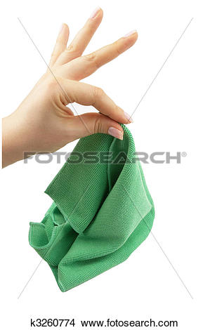 Stock Photo of Cleaning cloth k3260774.