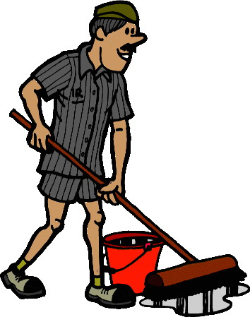 Cleaning crew clip art.