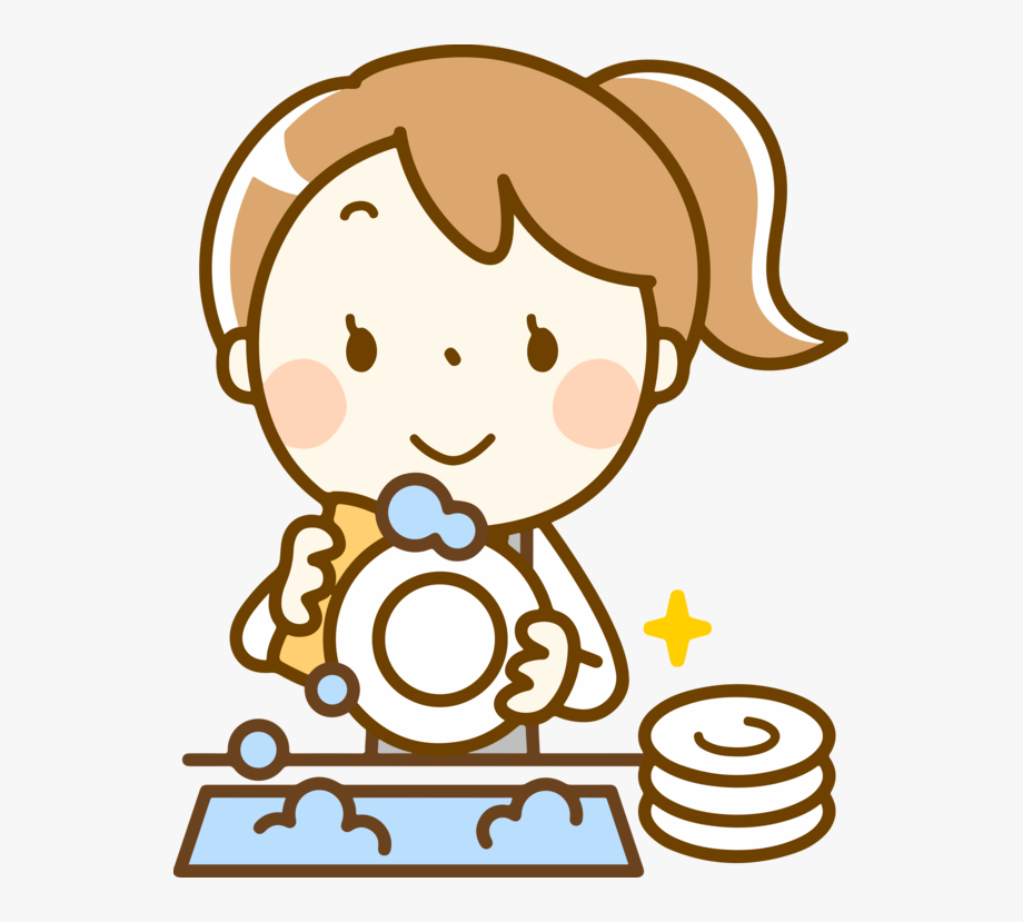 Dishwasher Clipart Clean Plate.