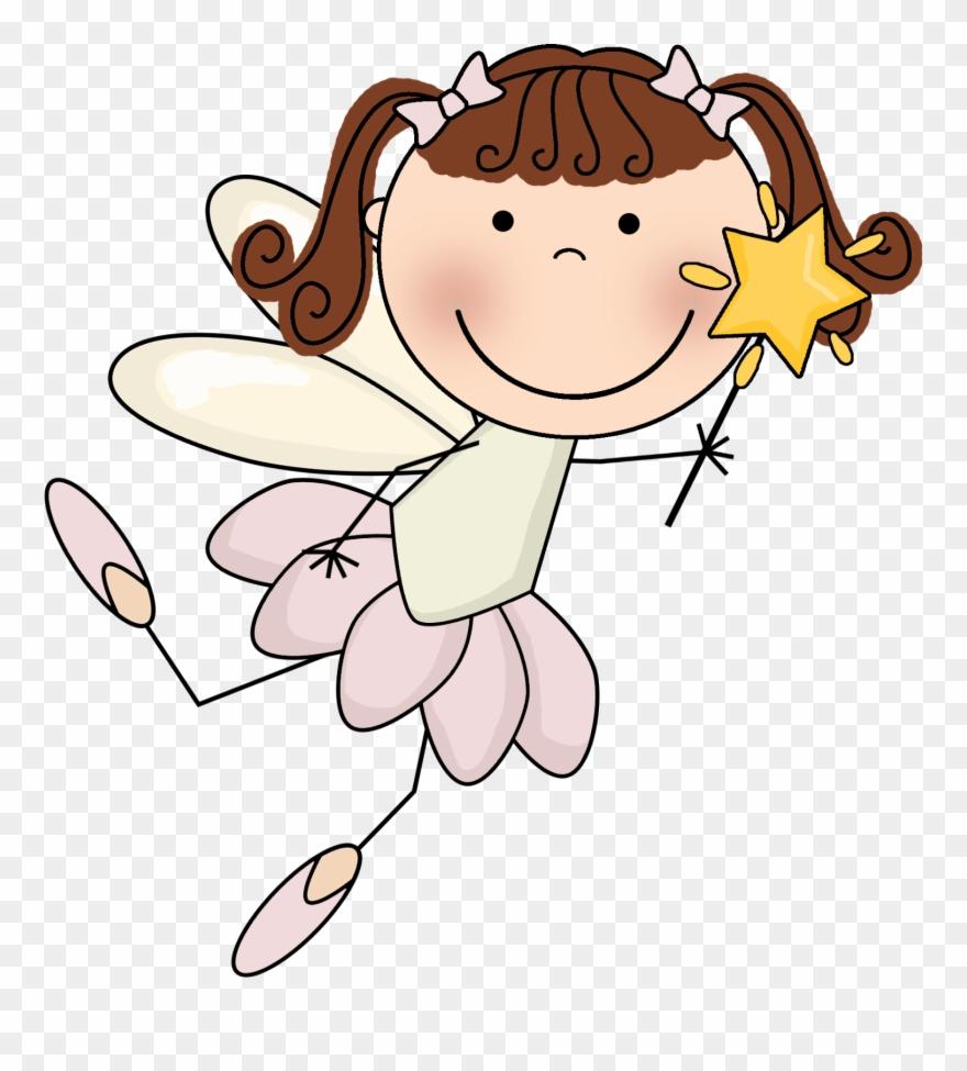 Desk Fairy Clipart.