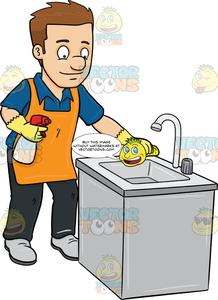 Cleaning clipart clean sink, Cleaning clean sink Transparent.