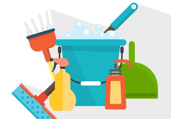 Vector Cleaning Products.