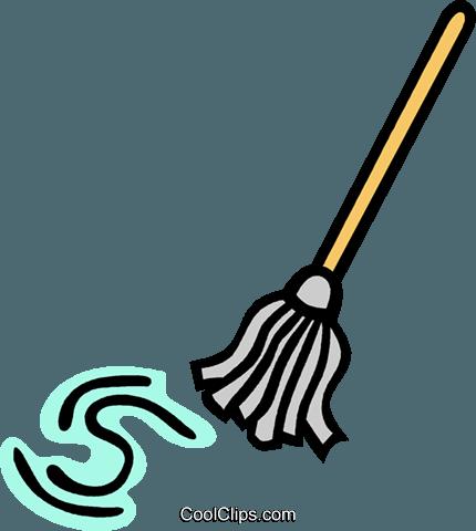 Clipart mop.