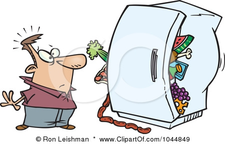 Refrigerator Cleaning Clipart#1965200.