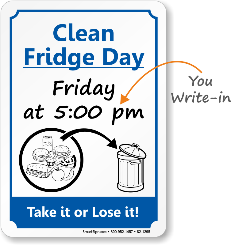 Showing post & media for Cartoon fridge clean out day.